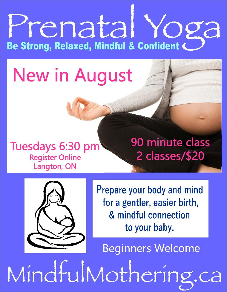 New in August!  Starting at 2 classes/$20